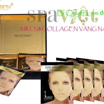 Bí quyết trắng da với bộ mặt nạ vàng Collagen Vàng Nano