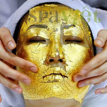 Liệu trình chống lão hóa chuyên nghiệp với vàng