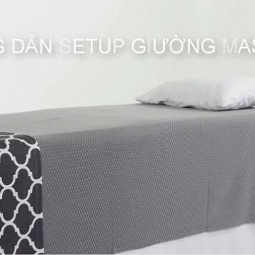 Hướng dẫn quy trình Setup giường Spa chuẩn